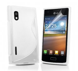 Back Cover Optimus L5 Style White