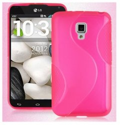 Back Cover Optimus L7 II Dual Style Pink