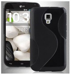 Back Cover Optimus L7 II Dual Style Black
