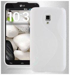Back Cover Optimus L7 II Style White