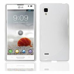 Back Cover P760 Optimus L9 Style White