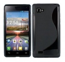 Back Cover LG Optimus 4X HD Style Black