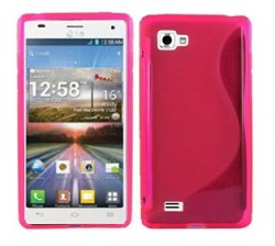 Back Cover LG Optimus 4X HD Style Pink