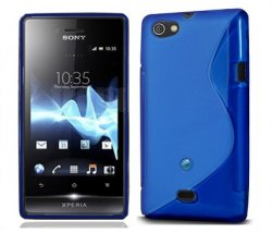 Back Cover Xperia Miro Style Blue