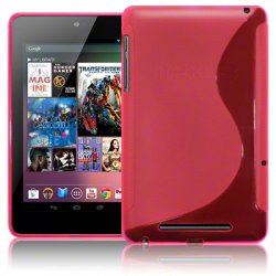 Back Cover Google Nexus 7 Hot Pink