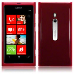 Back Cover Lumia 800 Red