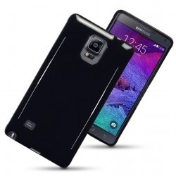 Back Cover Galaxy Note 4 Solid Black