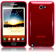 Back Cover Galaxy Note Pure Red
