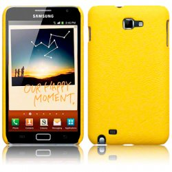 Back Cover Galaxy Note Yellow