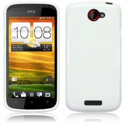 Bakskal HTC One S Solid White