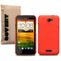 Back Cover HTC One X/One X Plus Orange
