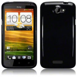 Bakskal HTC One X/One X Plus Solid Black