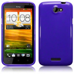 Bakskal HTC One X/One X Plus Solid Purple