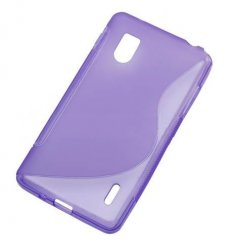 Back Cover Optimus G Style Purple