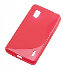 Back Cover Optimus G Style Pink