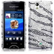 Back Cover Xperia Ray Diamond Zebra