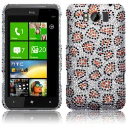 Bakskal HTC Sensation XL Diamond Lepard