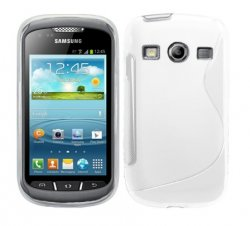Back Cover Galaxy Xcover 2 Style White