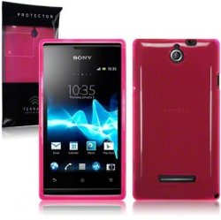 Back Cover Xperia E Hot Pink