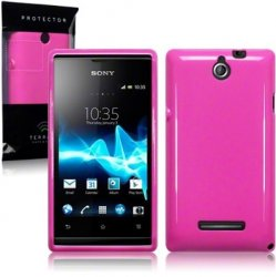 Back Cover Xperia E Solid Pink