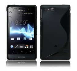 Back Cover Xperia GO Style Black