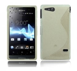 Back Cover Xperia GO Style Clear