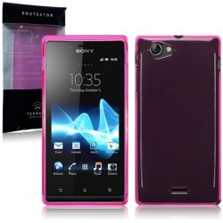 Back Cover Xperia J Hot Pink