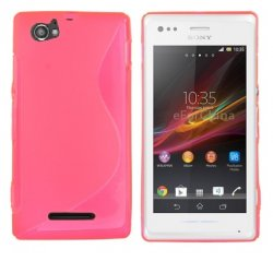 Back Cover Xperia M Style Pink