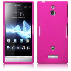 Back Cover Xperia P Solid Pink