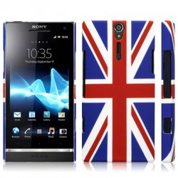 Back Cover Xperia S Union Jack