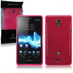 Back Cover Xperia T Hot Pink
