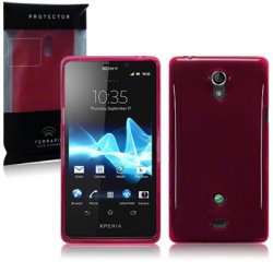 Back Cover Xperia T Red