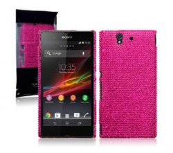 Back Cover Xperia Z Diamond Pink