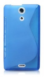 Back Cover Xperia ZR Style Blue