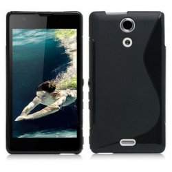 Back Cover Xperia ZR Style Black
