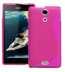 Back Cover Xperia ZR Style Pink