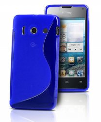 Back Cover Huawei Ascend Y300 Style Blue