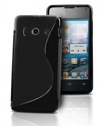 Back Cover Huawei Ascend Y300 Style Black