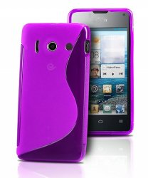Back Cover Huawei Ascend Y300 Style Purple