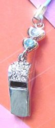 Crystal Turquoise Whistle