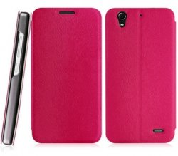 Flip Cover Huawei Ascend G630 Pink