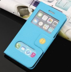 Flip Cover ID-Caller iPhone 6 Plus/6S Plus Blue