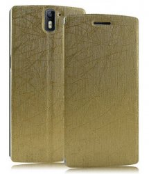 Flip Cover OnePlus One Golden