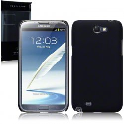 Hard Case Galaxy Note 2 Solid Black
