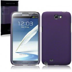 Hard Case Galaxy Note 2 Solid Plum