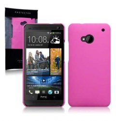 Hard Case HTC One Solid Pink