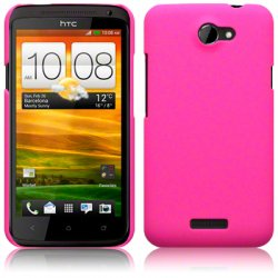 Hard Case HTC One X Solid Pink