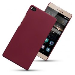 Hard Case Huawei P8 Solid Red