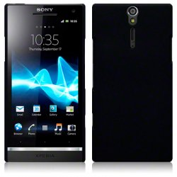 Hard Case Sony Xperia S Solid Black