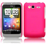 Hard Case HTC Wildfire S Frosted Pink